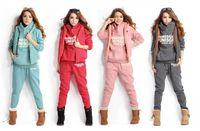 brand fashion tracksuits - Brand Women Casual Sports Hoodies Suit new fashion women Tracksuit Coat Vest Pants Sweatshirts