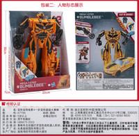 Wholesale Best sales free Christmas hornet Series Autobots Ironhide BOSS Robot hasbro Toys children gift c3
