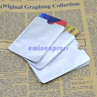 Wholesale Set Of Credit Card Protector Secure Sleeves RFID Blocking ID Holder Foil Shield