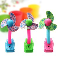 Wholesale Baby Prams Cots Play Gyms Mini Safety Clip on Fan Baby Stroller Jogger Safety Clip Fan