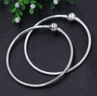 gold jewelry - New Silver Gold Plated Vogue SP Pandora Bangle Bracelets Fit European Charm Beads chains Jewelry DIY