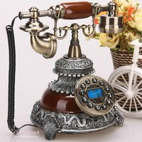 antique caller id phone - Chinese style antique telephone vintage telephone fashion phone caller id