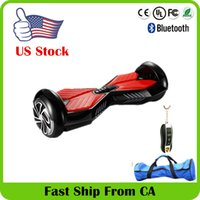 kick scooter - Stokc in US Smart Balance Wheel Electric Scooter Hoverboard Skateboard Remote Bluetooth Speaker Self Balancing Kick Scooter