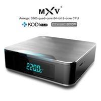 adult youtube - Amlogic S905 Quad Core MXV plus OTT TV Box XBMC Kodi Fully Loaded Adult Smart Media Player Original New K S905 Android TV Box