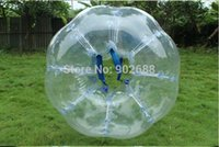 Cheap WOW Free Shipping cost+Free Logo+ repaired kits inflatable body zorb ball bumper ball soccer bubble IN STOCK!!