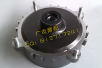 Wholesale Gy6125 front wheel hub assembly sand ch125 drum assembly grey silver order lt no track