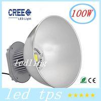 Wholesale 100W LED High Bay Light V Industrial LED Lamp Degree LED Lights High Bay Lighting LM for Factory Workshop Approval