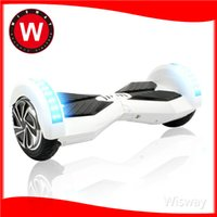 blue led - High quality hoverboard self balancing electric scooter smart balance wheel electric skateboard inch LED scooter with bluetooth speakers