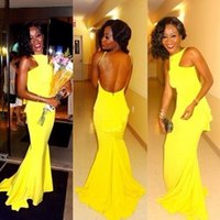 Yellow mermaid prom dresses 2012 – Dress and bottoms