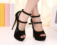 women red bottom shoes - new spring high heeled shoes wedding shoes platform fashion women s shoes pumps red bottom high heels YY353
