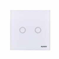 automation control panel - FUNRY Double Touch Control Automation Switch Smart Home Touch Panel Wireless Remote Control v v
