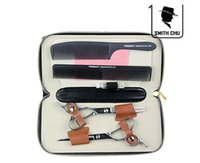 Cheap SMITH CHU 6.0 inch Left hand Professional barber hair cutting scissor and thinning scissors HX28