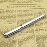 Wholesale NEW Jinhao X750 Silver Stainless Steel Medium KGP Nib Fountain Pen Good Gift