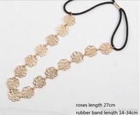 2015 Acessórios de cabelo 2016 Mulheres Moda Headpieces Acessórios de Moda Ouro Headwear Faixa de Cabelo queda de jóias jóias de casamento