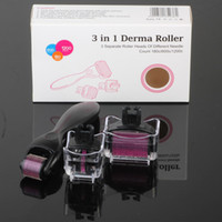acne systems - Micro Derma Roller Facial Skincare Dermatology Therapy System for Acne Scars Wrinkles Blemish and Blackheads in dermaroller kits