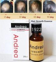 Wholesale Andrea Hair Growth Essence Hair Loss Liquid ml dense Nourish hair care Anti Hair Loss for men and women