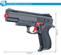 Wholesale BQ064 High Quality Desert Eagle Nerf Airsoft Gun Airgun Soft Bullet Gun Paintball Pistol Toy CS Game Shooting Water Crystal Gun