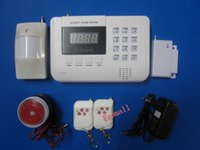 auto alarm shops - PSTN and GSM Wireless Burglar Alarm Security System anti thief system Home Shop Garden Auto Dial Double Network S914