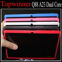 Wholesale Q88 Q8H A23 Dual Core Tablet PC MB GB GB Android Inch Wifi Dual Camera OTG Cheap Tablet Factory Cheapest Price