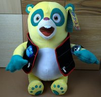 agent - 2015 New cm Special Agent Oso Plush Toy Children Boys Girls Gifts Hot Cartoon Movie Stuffed Doll Soft Toy Plush Animals Toys D3875