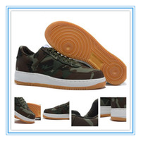 camo fabric - Air Force Low AF1 Mens Sneaker Shoes Men s Sports Skateboarding Shoes Camo Green