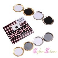 Wholesale iphone S Plus Touch ID Fingerprint Aluminium Metal Ring Home Button Sticker Protector For iPhone iPad mini air