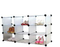 plastic storage shelf drawers - DIY Locker Shoe Combination Shelf Plastic Storage Drawers Shoe Storage Boxes for Sale Green Environmental Protection
