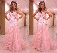 Cheap See Though Corset Prom Dresses Mermaid 2016 New Arrival Lace Applique Beaded Sweetheart Sexy Open Back Evening Gowns Formal Party Dress