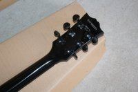 Hot Sale SG corps noir bande rouge Guitare électrique 6 cordes Guitares EMS Drop Shipping gratuit