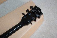 Precio de Cuerpo sg-Venta caliente SG Negro Cuerpo raya roja de la guitarra eléctrica 6 cuerda Guitarras ccsme envío de la gota libre