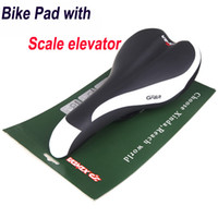 Wholesale Xinda PU Leather Mountain Bike Bicycle Breathable Mesh Saddle Seat Cushion Pad with Scale