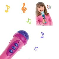 Wholesale DGOO kids child Funny Microphone Mic Karaoke Singing Funny Gift Music Toys Pink Wholesales