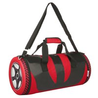 Wholesale Waterproof Nice Sports Bag Tire Tyre Shaped Storage Bag Portable Folding Outdoor Sports Bag with Shoulder Strap