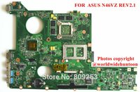 asus mini vga - Original Laptop motherboard FOR ASUS N46VZ REV2 S939 DDR3 Non intergrated Fully tested amp
