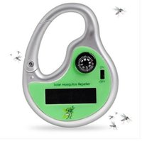 activities repellents - Solar Mosquito Repellent With Compass Climbers Hook Type Green Ultrasonic Insect Killer For Your Outdoor Activities
