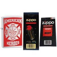 Wholesale Zippo American Hero Firefighter Lighter Flints Wick