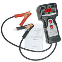 auto battery checker - Car Automative Vehicular Auto Battery Tester with V and V Voltage Indicator Digital Checker Analyzer M44579