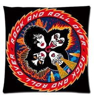 best sofa beds - Decorative Soft Bed Sofa Throw Pillow America s most famous band kiss Best Pillow Case