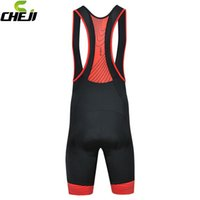 Wholesale 2016 New Arrived Men Color Breathable Cycling Bib Shorts Vest Strap Cycling Pants Flexible Padded Cycling Shorts Quick Dry Lycra GEL Pad