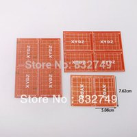 Wholesale New x x3 quot Prototyping PCB Printed Circuit Board Prototype Breadboard Stripboard order lt no track