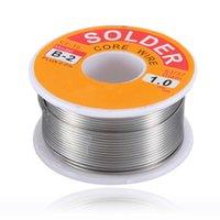 Wholesale High quality g oz FLUX mm FT Tin Lead Line Rosin Core Flux Solder Soldering Welding Iron Wire Reel order lt no track