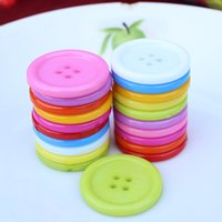 big craft buttons - 200pcs pack Multi Rainbow Colors Nylon Buttons Big holes Round quot mm assorted button for Sewing button Craft