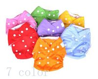 baby diaper pants - pants liner TPU waterproof reusable colour baby cloth diapers nappies inserts