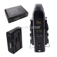 Wholesale 2pcs Lanparte V Mount Li ion Battery Wh with LCD Power Display RL KS Dual Supply Charger