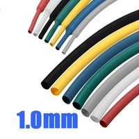 Cheap Best Promotion 1 16 1mm 1m 7Color Polyolefin 2:1 Heat Shrink Wire Wrap Cable Sleeve Tubes Durable