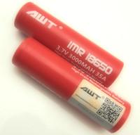 Cheap Authentic AWT 18650 3000mAh 35a Best 18650 li-ion battery