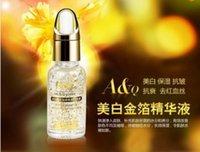 Wholesale Aqiong k Gold Face Care Essential Oils Skin Care Hyaluronic Acid Liquid Cream Whitening Moisturizing Anti Aging Treatment