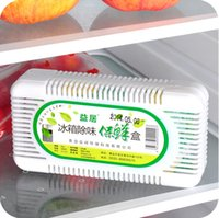 Wholesale Fresh Fridge Refrigerator Air Purifier Charcoal Deodorizer Absorber Freshener Eliminate Odors Smell Collect Kitchen JI4