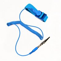Wholesale Anti Static ESD Wrist Strap Discharge Band Grounding Static Release with Clip