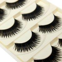 Wholesale 2015 New Pairs False Eyelashes Thick Long Nature Fake Eye Lashes Voluminous Beauty Makeup Styling Tools
